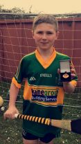 Rian is Co. Down Feile Hurling Skills Winner